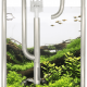 Stainless steel adjusted under water freshwater tank aquarium water inlet and outlet